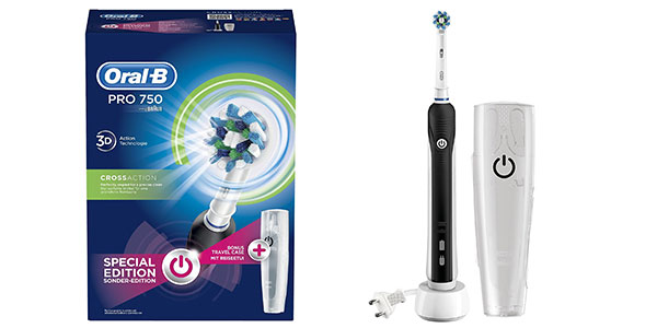 Cepillo eléctrico recargable Oral-B Pro 750 CrossAction