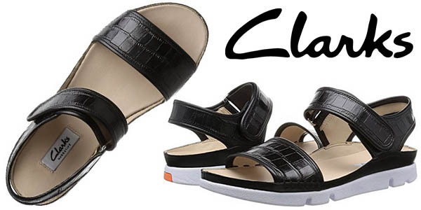 a00adfa5 Chollazo Sandalias Clarks Tri Nova para mujer por sólo 40,95€ con ...