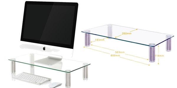 Elevador monitor LCD Fitueyes barato en Amazon