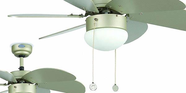 Faro Barcelona Palao 33186 ventilador de techo con lámpara decorativo