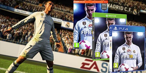 Fifa 18 para PS4, Xbox One y PC Origin