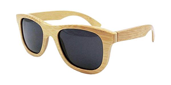 92f83330da Chollo Gafas de sol polarizadas unisex con montura de madera de ...