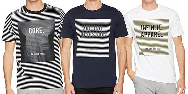 JACK & JONES Camiseta - para Hombre naSrCM7Fy