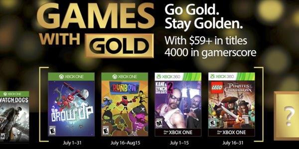 Juegos Gratis Con Gold De Julio 2017 Para Xbox One Y Xbox 360