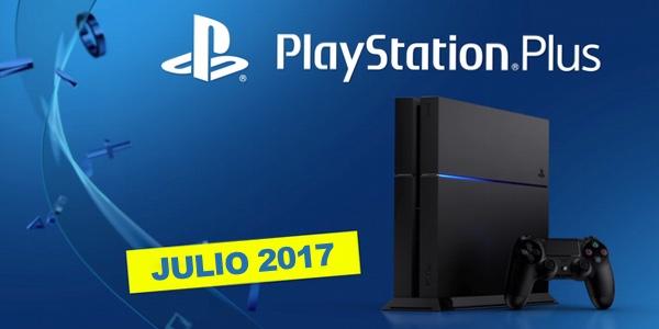 Juegos gratis PS Plus julio 2017
