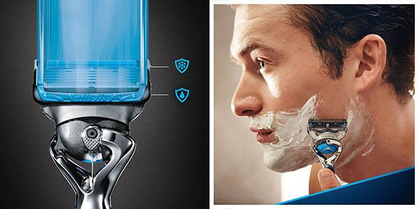 maquinilla afeitar Gillette Fusion Proshield piel sensible