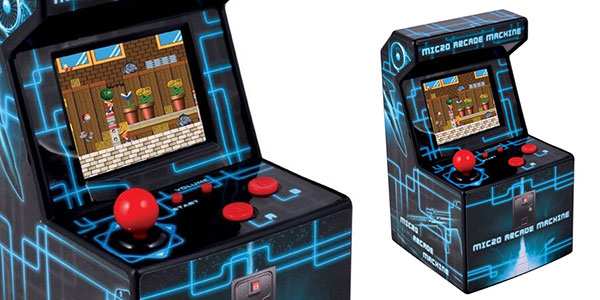Mini máquina recreativa arcade Me! con 240 juegos de 16 bits
