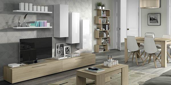 Mueble de sal n modular duehome por solo 216 con env o gratis for Mueble salon barato