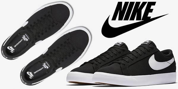 Moda Zapatillas Hombre : Nike SB Blazer Vapor Black White
