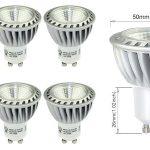 Pack 6 bombillas LED GU10 de 6W chollo en Amazon España