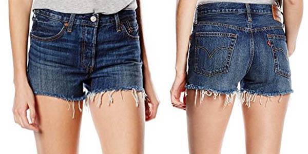 6f03c8e6fe Pantalones cortos Levi s 501 Short para mujer por sólo 38