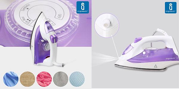Chollo plancha de vapor aigostar steel purple 31 hfz con - Plancha camisas automatico ...