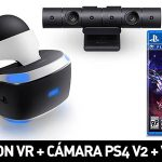 Pack Playstation VR + Cámara Playstation V2 + VR Worlds