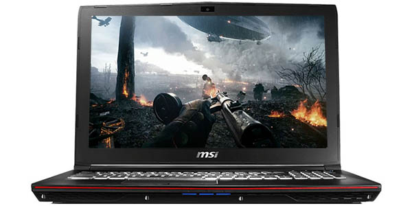 Portátil gaming MSI GP62 7RE-431XES Leopard Pro