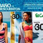 Promoción El Corte Inglés operación verano con descuentos en bañadores