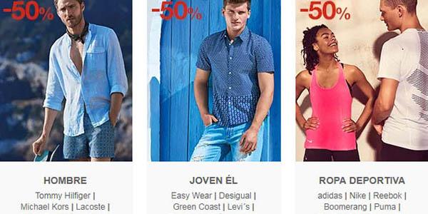 Rebajas en Moda hombre joven primeras marcas El Corte Inglés