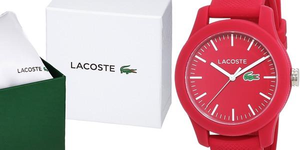Reloj Lacoste 2000957 rojo en oferta