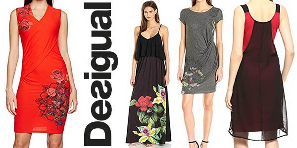 b3bb6732e8dc3 Espectaculares Rebajas en vestidos Desigual al 40% de descuento en ...