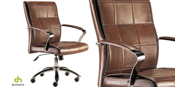 Silla de escritorio estilo retro Due Home chollo en eBay