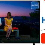"Smart TV LED Haier B9300U de 55"" UHD 4K"