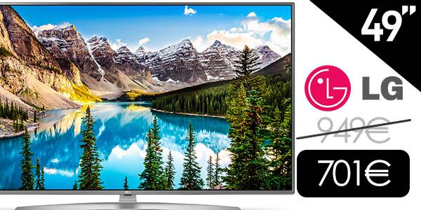 """Smart TV LG 49UJ670V UHD 4K HDR de 49"""""""