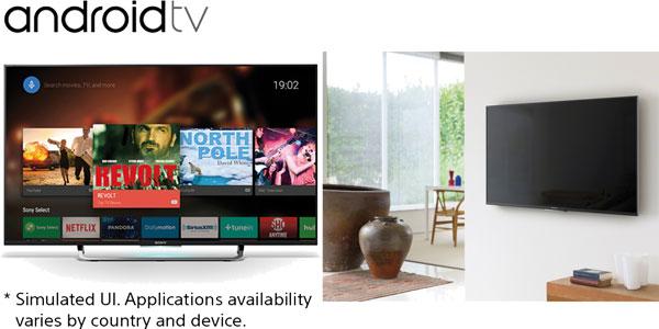 Smart TV con AndroidTV Sony KD-49X8308C chollo en El Corte Inglés