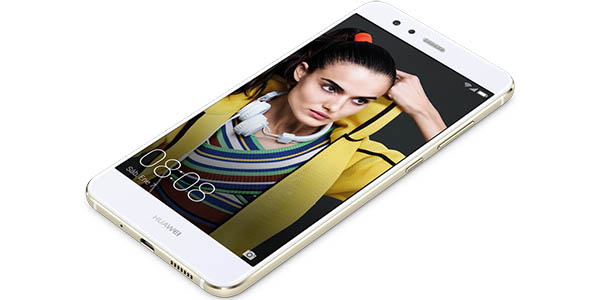 Huawei P10 Lite en color blanco
