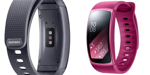 b19bd13a8bbe CHOLLAZO: Pulsera de actividad Samsung Gear Fit 2 con GPS por sólo ...