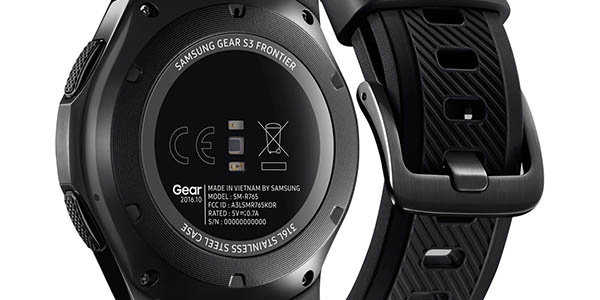 Samsung Gear S3 SM-R760 Frontier con sensor de ritmo cardíaco