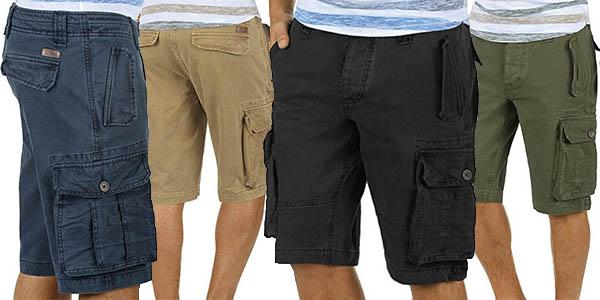 Solid pantalones cargo para hombre baratos