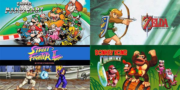 Juegos incluidos Super Nintendo Classic Mini