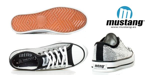 Zapatillas glitter Mustang Trend Low baratas en eBay