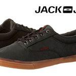 Zapatillas Jack & Jones Jfwvision Pu Anthracite para hombre rebajadas en Amazon