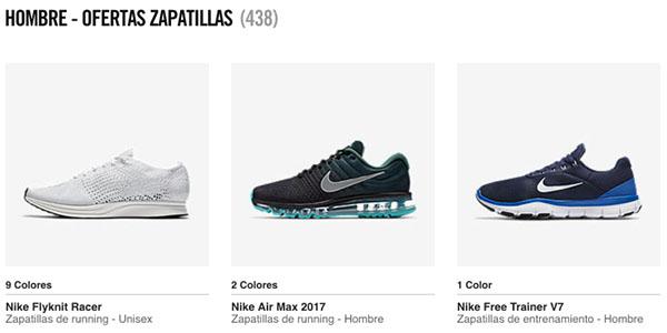 Zapatillas Nike con cupón descuento