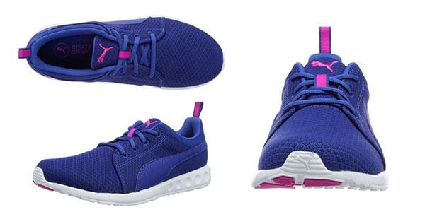 zapatillas puma azules para mujer