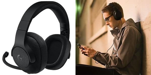 Auriculares gaming Logitech G433 en Amazon