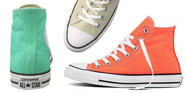 bambas Converse All Star Chuck Taylor botas de lona en colores alegres