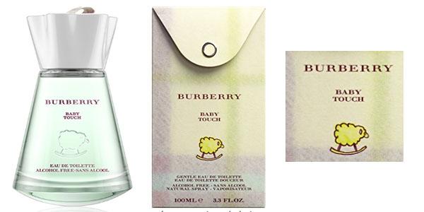 Burberry agua de colonia sin alcochol Baby Touch infantil barata