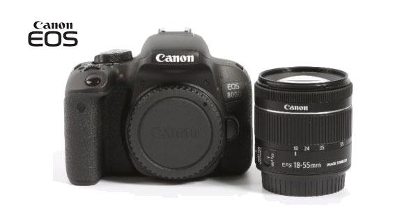 Cámara Canon EOS 800D chollo en eBay