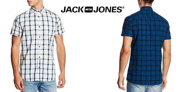 Camisa de manga corta casual para hombre Jack & Jones al mejor precio