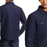 Chaqueta para hombre Hilfiger Denim Quilted Shirt 43 chollo en Amazon