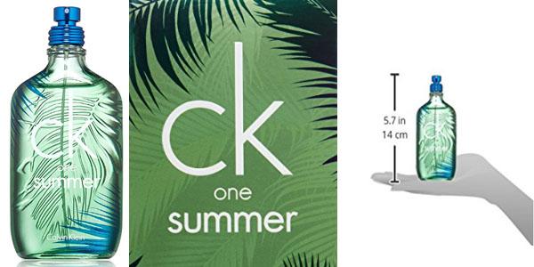 CK One Summer eau toilette 100 ml colonia verano barata