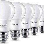 Conjunto 6 bombillas LED de Philips de 8W (60W) casquillo Edison chollo en Amazon