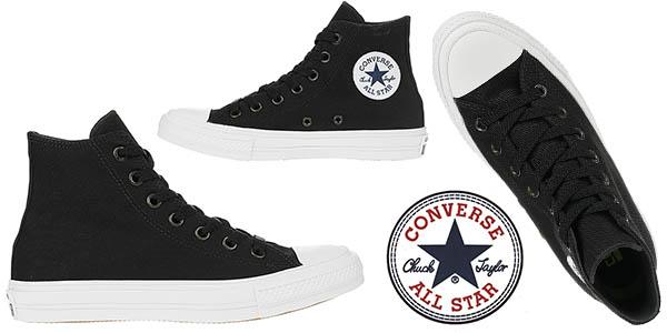 Converse Chuck Taylor Hi II negro zapatillas botines baratas