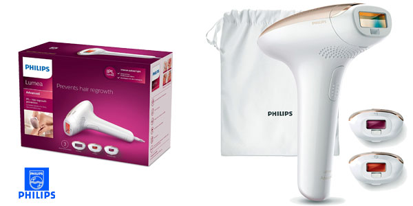 Depiladora IPL Philips Lumea Advanced SC1999/00 chollazo en Amazon