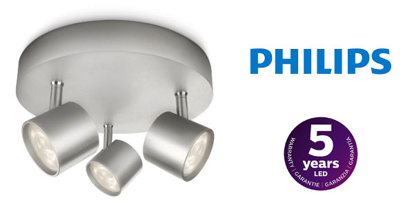 Plafón Philips myLiving Star triple a buen precio en Amazon