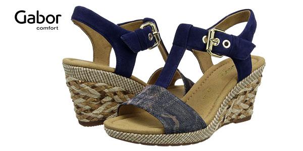 Sandalias para mujer gabor Shoes Comfort chollo en Amazon