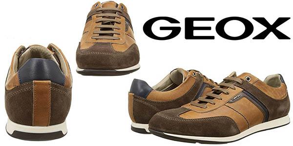 Geox U Clemet B zapatillas casual para hombre baratas