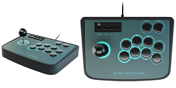 Mando arcade Lioncast paa Raspberri y MAME barato en Amazon
