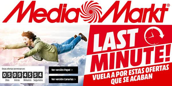 Media Markt catálogo de ofertas Last Minute julio 2017
